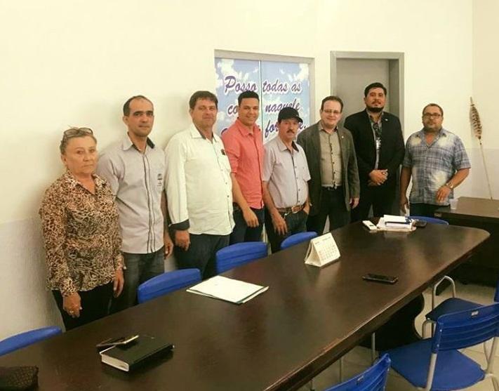 >> ASSESSORES DE MARCOS ROCHA VISITAM GOV. JORGE TEIXEIRA E CONVIDAM PREFEITO PARA O REDE + BRASIL