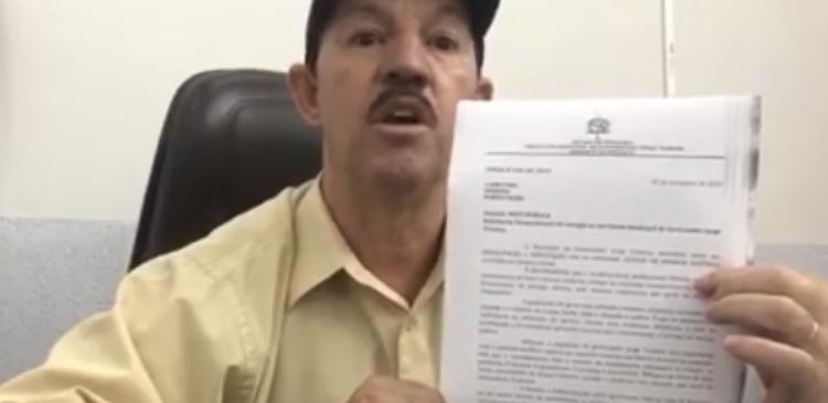 >> JORGE TEIXEIRA – PREFEITO PUBLICA NOTA E MOSTRA INDIGNAÇÃO COM FALTA CONSTANTE DE ENERGIA