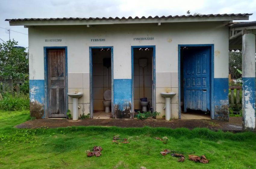 GOV. JORGE TEIXEIRA- A situação real das escolas do Município de Governador Jorge Teixeira